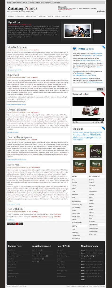 60 free yet premium quality wordpress magazine news themes 60 free yet premium quality wordpress magazine news