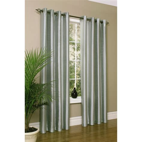 habitat curtains habitat ming faux silk curtains 104x63 grommet top