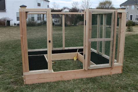 Garden Enclosure Ideas Diy Raised Bed Garden Enclosure Hometalk