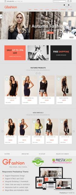 london themes prestashop premium fashion and beauty prestashop themes