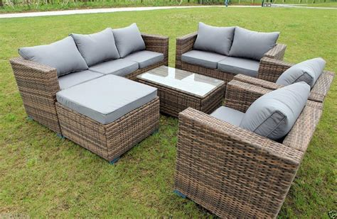 all weather rattan sofa justcool rattan furniture china manufacturer company
