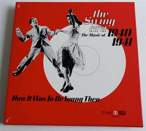 the swing song the swing era the music of 1940 1941 box set 3 lps book
