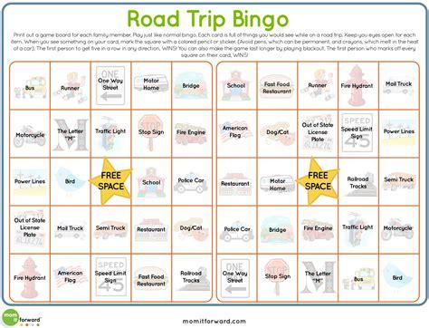 printable road trip bingo road trip bingo printable mom it forwardmom it forward