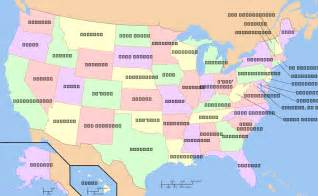 Map Of Usa With Names by Map Of Usa By States