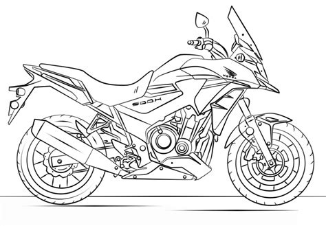 desenho de moto  colorir molde  imagens  imprimir