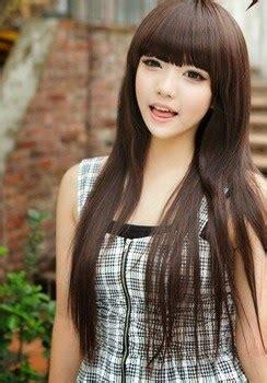 tren style model rambut wanita korea  cewek seksi