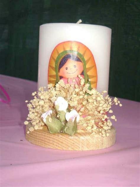 centro de mesa con vela para bautizo centros de mesa quot fiestas quot mesas