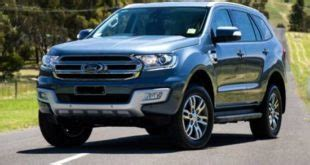 2019 ford everest redesign and changes   ford redesigns.com