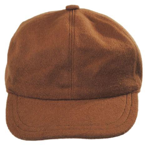 stetson and wool earflap baseball cap blank
