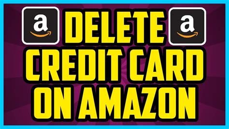 How To Remove Gift Card From Amazon Account - how to delete a credit card on amazon 2017 easy remove old credit cards amazon