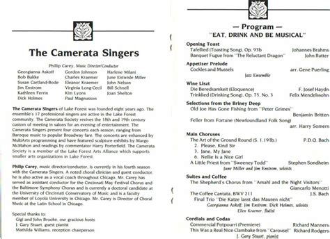 orchestra resume sle sle concert program choir letter of invitation sle concert program funeral service