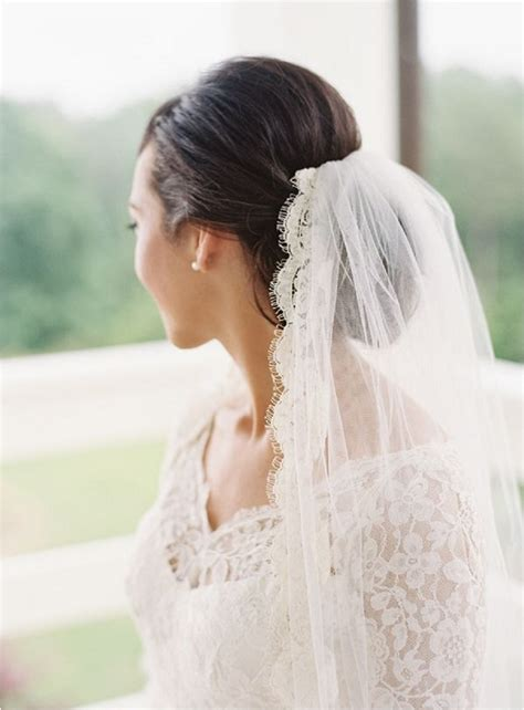 Wedding Hairstyles With Veil And High Bun by Fall Wedding Hairstyle Ideas Hair World Magazine