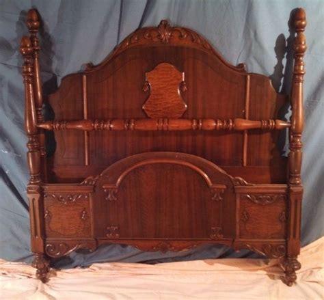 bed frame side rails vintage c 1940 s bed frame with side rails