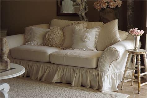 shabby chic sofa slipcovers ashwell sofa slipcovers energywarden