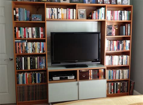 wall units inspiring bookshelf entertainment unit tv
