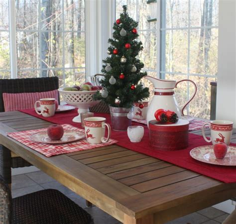 is your little darling s decor ready for an update spruce up her dining table in sunroom at christmas 11 hooked on houses