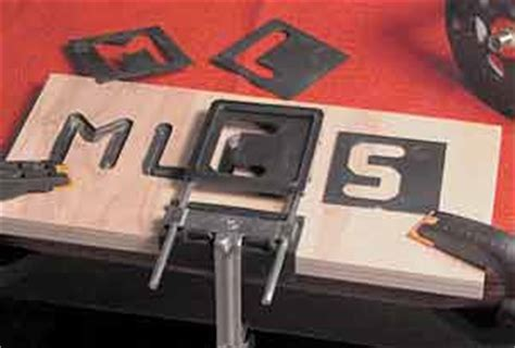 mlcs dish cutters v groove sign lettering router letter