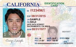 California Id Template by New California License Coming To A Wallet Purse Near You