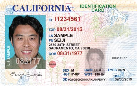 California Id Template new california license coming to a wallet purse near you