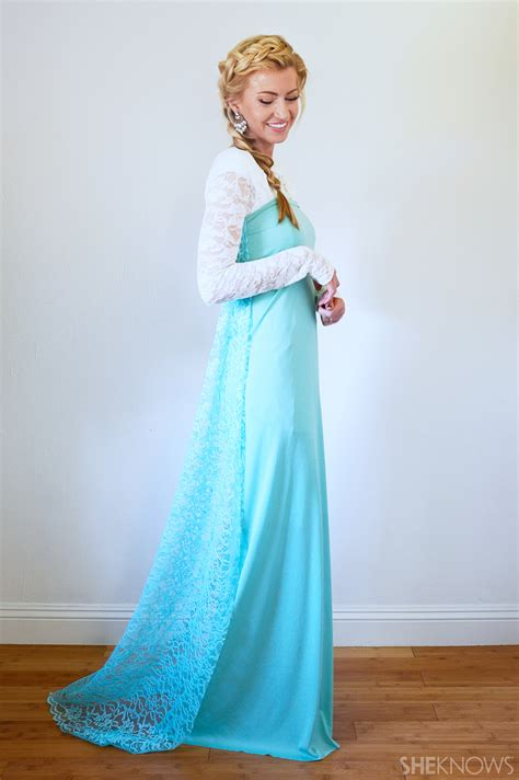 Elsa Costume Handmade - easy diy disney princess costumes