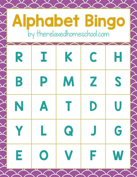 printable games with the alphabet free printable alphabet letters bingo game download here