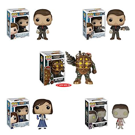 Funko Pop Booker Dewitt Skyhook Bioshock Infinite big backpack carries everything you need to protect