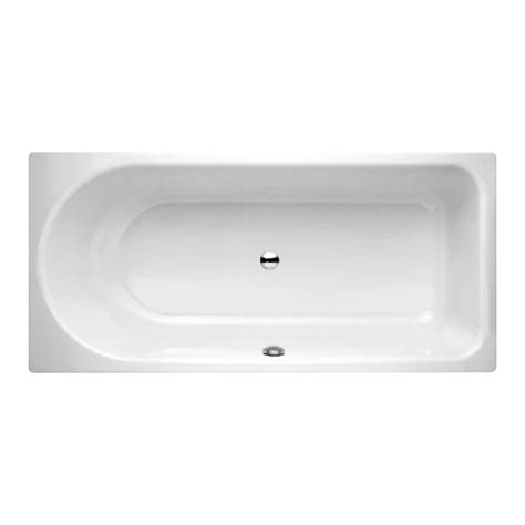 bette bathtubs bette ocean rectangular bath front overflow white 8853