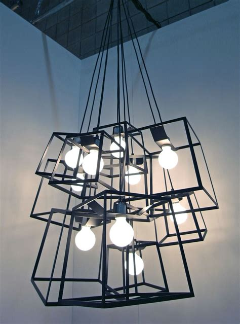 designboom lighting iacoli mcallister large frame light cluster