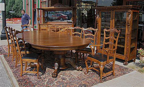 12 piece dining room set quarter sawn oak 12 piece dining room set
