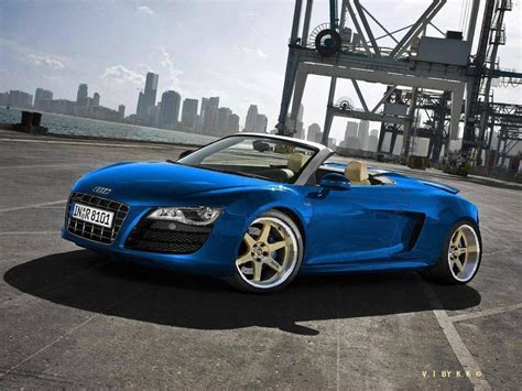audi r8 wallpaper blue audi r8 spyder wallpapers wallpaper cave