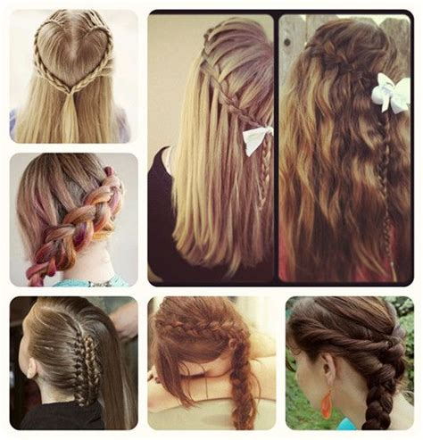 beautiful simple hairstyles for school look in 48 best images about hairstyles tutorial on