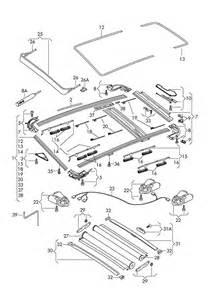Parts For Audi Q7 Audi Q7 Glass Sunroof