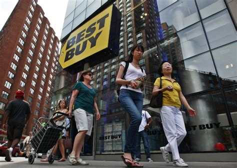 best buy quarterly sales slumping sales push best buy to another quarterly loss