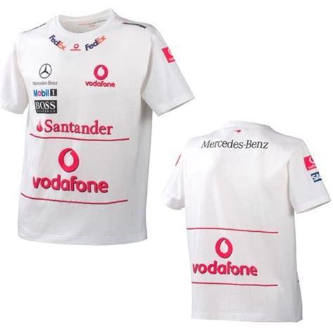 Tshirt Kaos Mc Laren International mclaren mercedes f1 team race t shirt