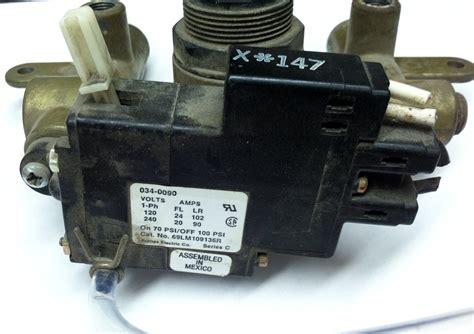 coleman powermate sanborn   onoff switch master tool repair