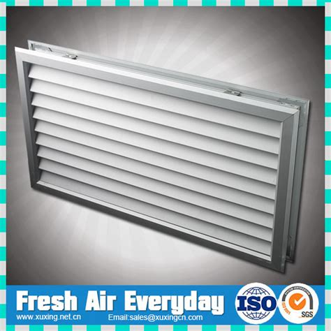 Interior Door Vent Grill by Ventilation And Decorative Silver Aluminum Return Air