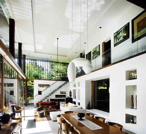 luxury singapore homes indoor outdoor architecture
