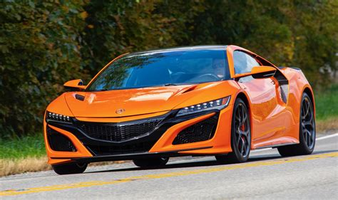 2019 acura nsx 2019 acura nsx review a small nip and tuck adds big gains