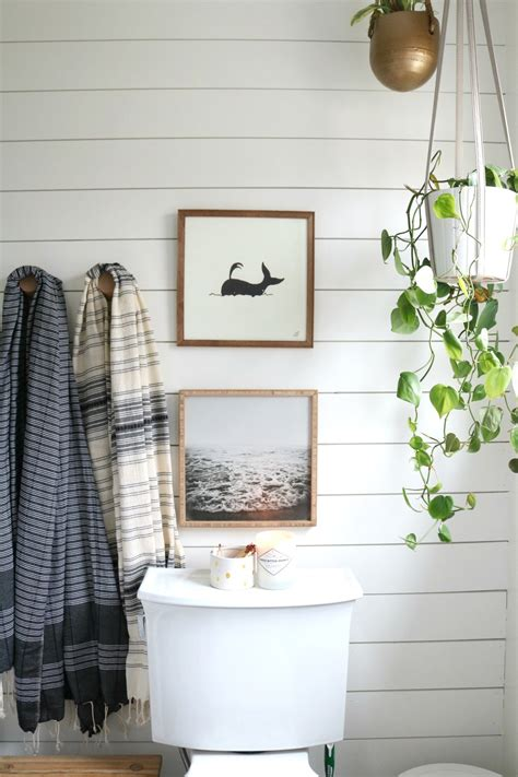 Shiplap Bathroom by Azek The Best Shiplap For Bathrooms Nesting With Grace
