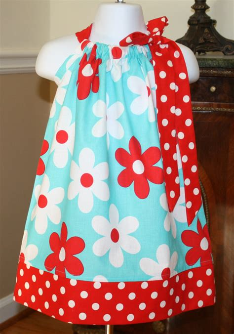 lil plain pillowcase dress michael miller by
