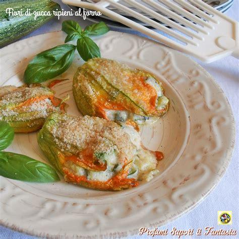 fiori di zucca ricette al forno fiori di zucca ripieni al forno preparazione facile con