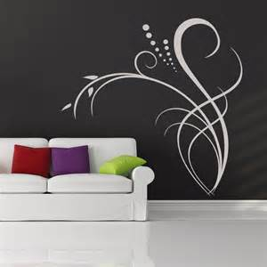 Flower Wall Art Stickers Floral Decor Flowers Wall Decal Wall Art Stickers