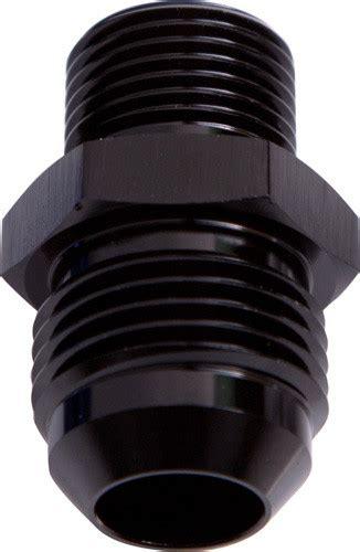 Flex Performance 8an X M18 1 5 An Flare To Metric Adapter af734 08blk an efi fuel adapter m18 x 1 5mm to 8an aeroflow performance