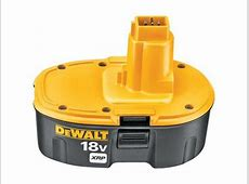 Dewalt Replacement 18V XRP BATTERY PACK # 389795-23 ... 18v Dewalt Battery Replacement