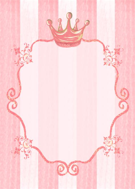 princess invitation templates princess invitation background stationery