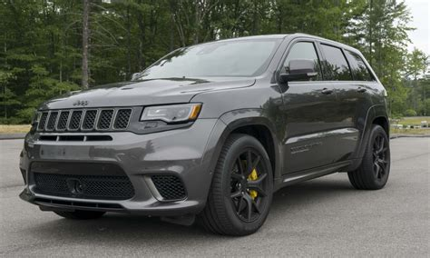 trackhawk jeep black 2018 jeep grand cherokee trackhawk first drive review