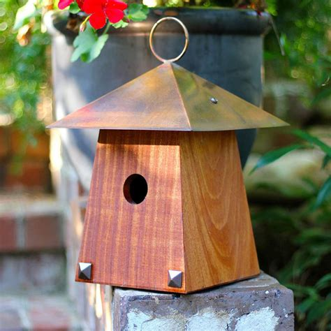 avian bungalow hanging bird house so that s cool