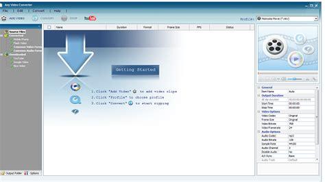 jenis format video dvd player any video converter adalah aplikasi konverter gratis yang