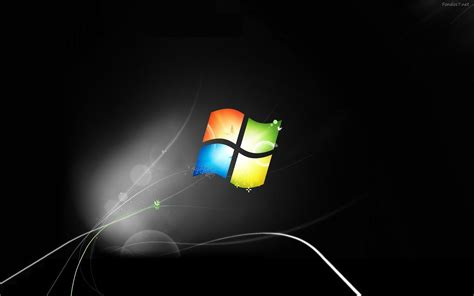 wallpaper windows black edition black windows 7 wallpapers wallpaper cave