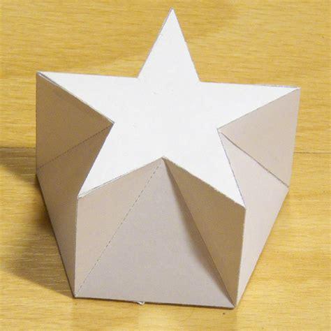 paper shape paper pentagonal pentagrammic shape